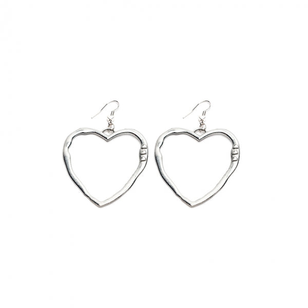 Bigger than life heart Earrings