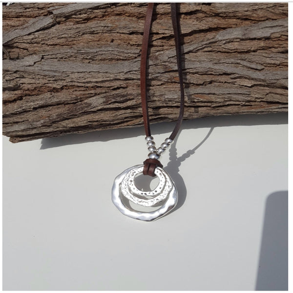 Uno De circles necklace