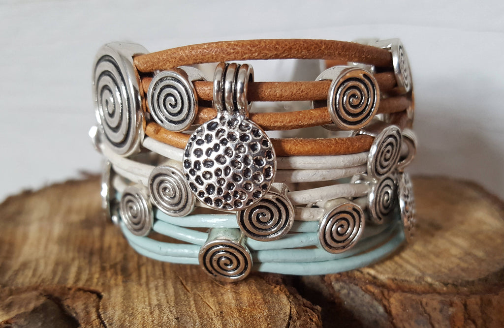Spirals of fun Bracelet