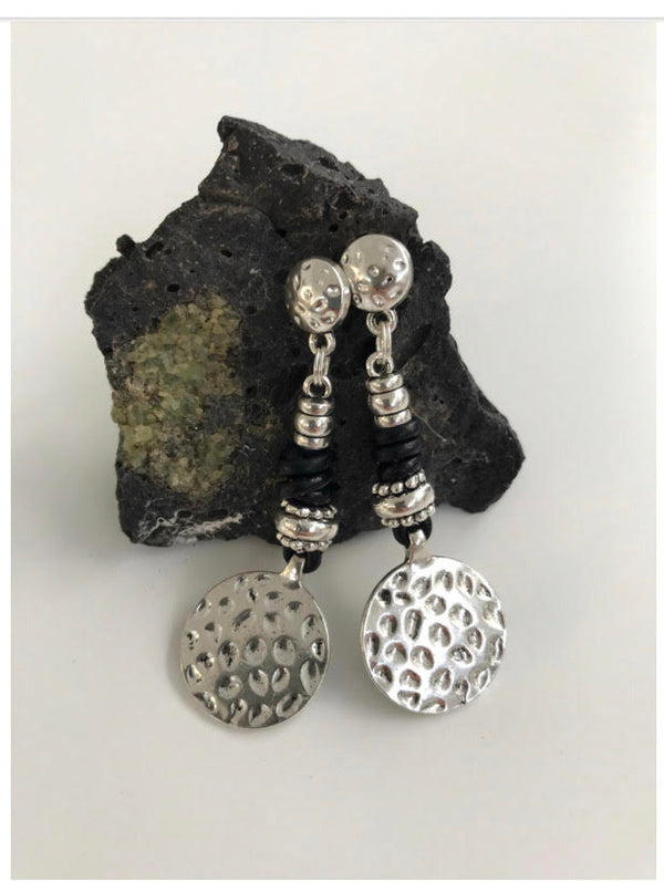 Spotted Circles Earrings