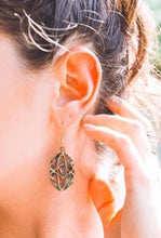 Load image into Gallery viewer, Halo of Copper Earrings