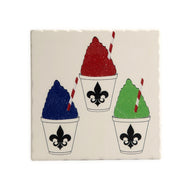 TV62 TUMBLED TILE TRIVET Snocone
