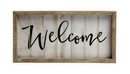 UH816 WELCOME SIGN SMALL