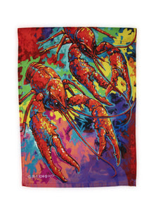 FG36 Crawfish Garden Flag