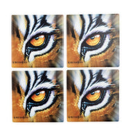CT48A Set of 4 Coasters Tiger Eye in Box