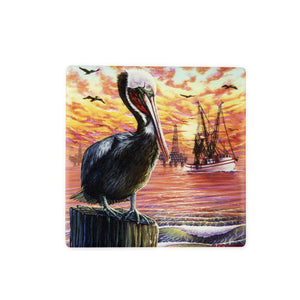 CT50 Pelican A Day's Catch Coaster