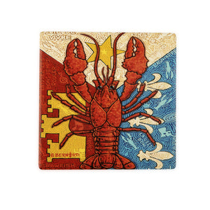 CT52 Acadian Crawfish Coaster