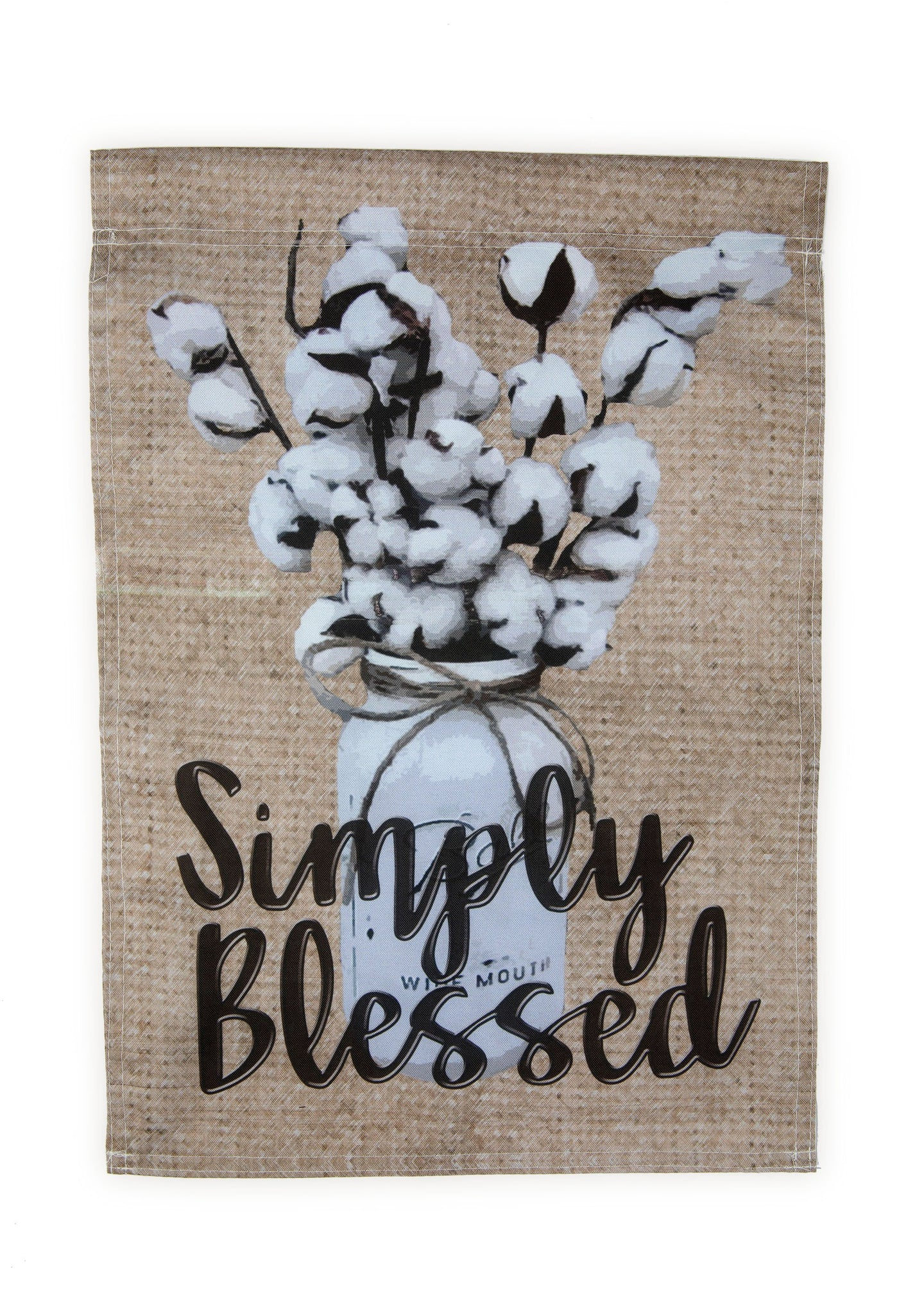 FG34 Simply Blessed Garden Flag