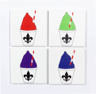 CT78 Coaster set of 4:  Snocone