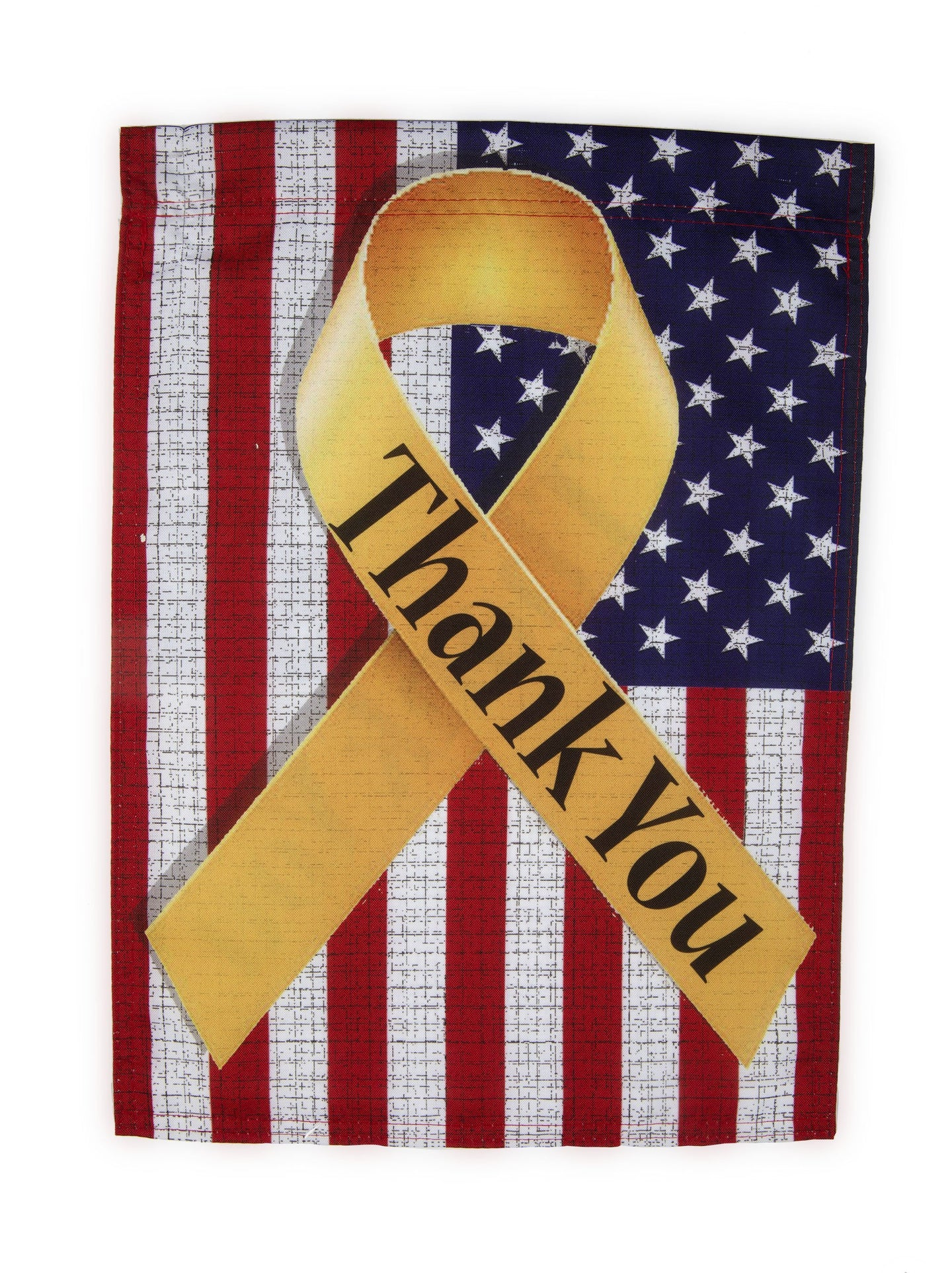 FG50 Thank You Ribbon Garden Flag