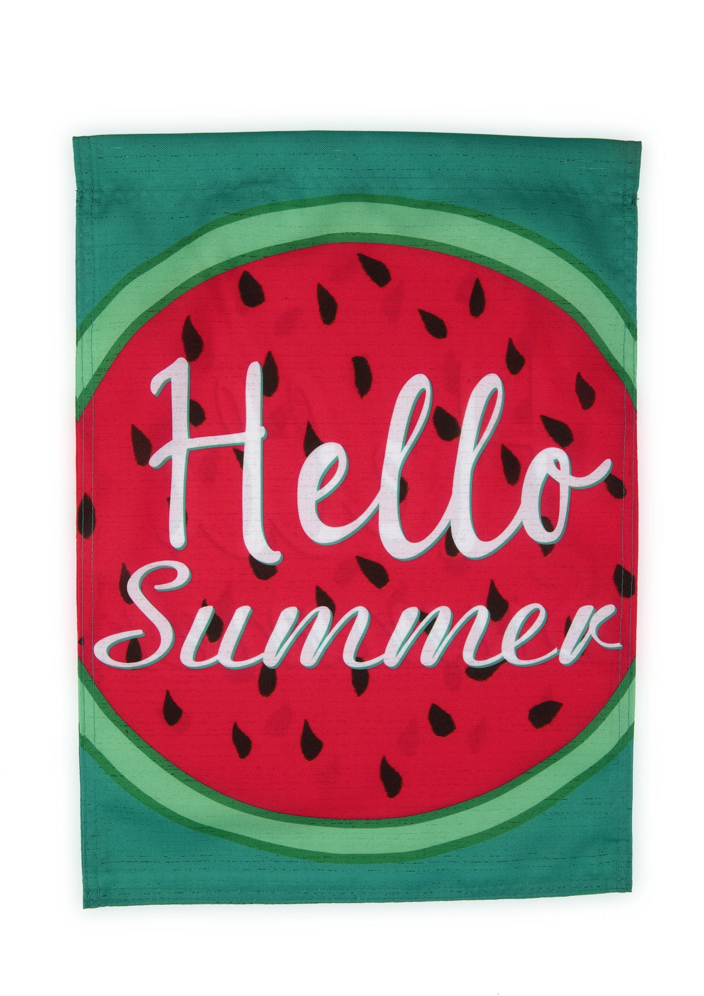 FG60 Hello Summer Watermelon Garden Flag