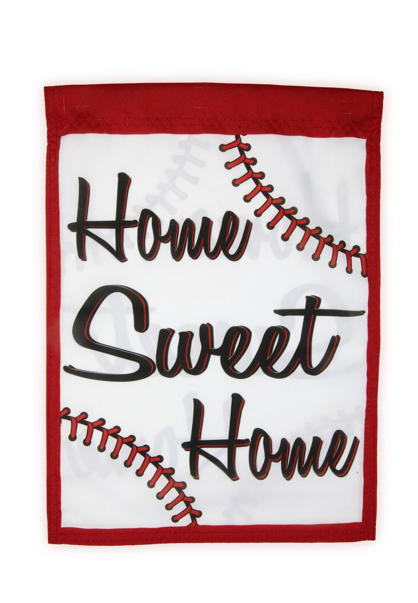 FG64 Baseball Home Garden Flag