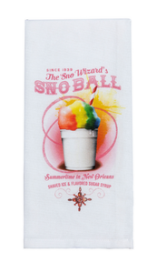 KT5 SNO BALL TEA TOWEL