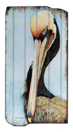 UH711 PELICAN WOODEN WALL ART