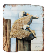 UH720 Pelican WOODEN WALL ART
