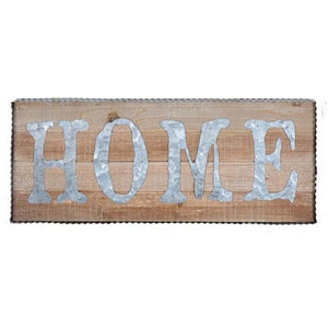 "UH820 WALL SIGN ""HOME"""