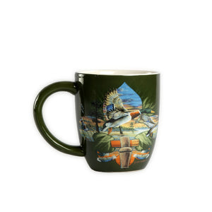 LM3 Large Coffee/Soup Mug Duck de Lis