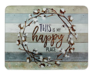 GCB55 Happy Place Glass Cutting Board