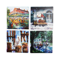 CT34 Set of 4 Coasters New Orleans