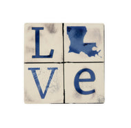 CT45 Blue LA Love Coaster
