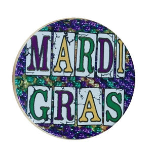 CC11 Mardi Gras Car Coaster