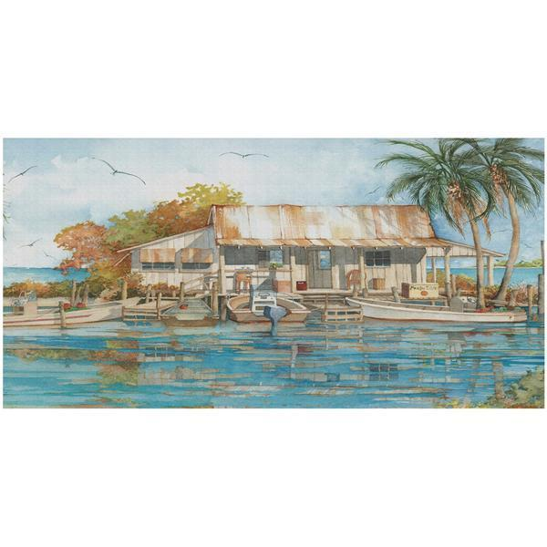 CP11 CANVAS PRINT SEAFOOD SHACK