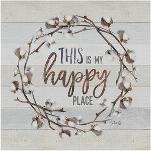 CP16 CANVAS PRINT HAPPY PLACE