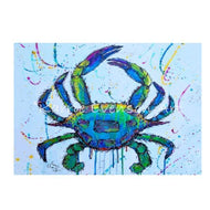 CP63 blue crab canvas
