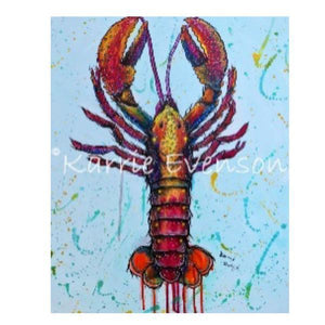 CP65 Crawfish canvas