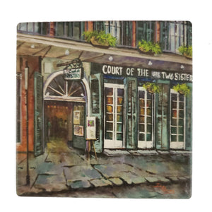 CT198 Court of 2 sisters coaster