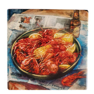 CT208 Crawfish and Corn coaster