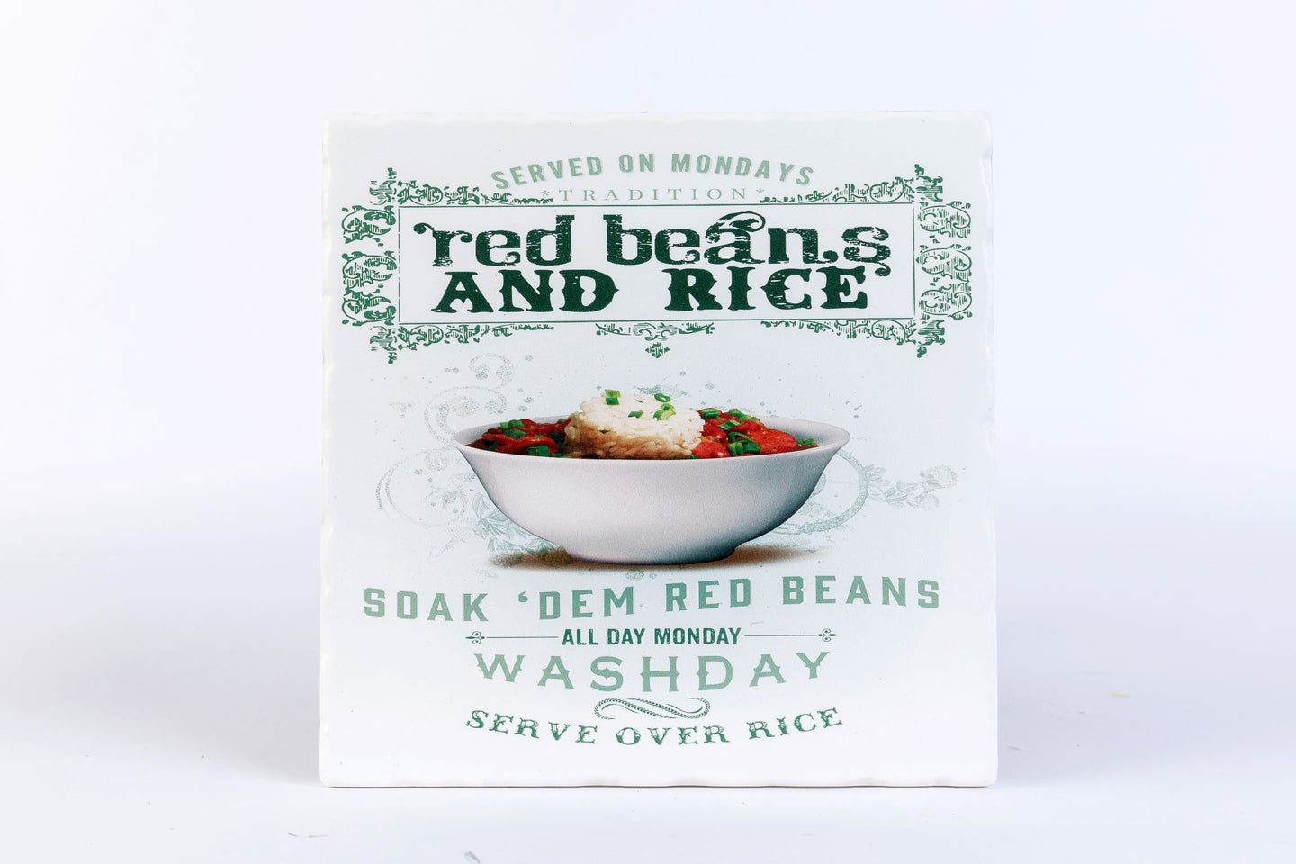 CT90 Red Beans & Rice Coaster