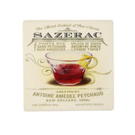 CT103 Sazerac Single Coaster