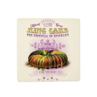 CT85 King Cake Coaster