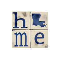CT46 Blue LA Home Coaster