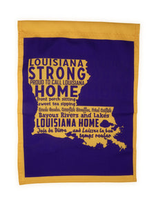 FG31 Louisiana Strong Garden Flag