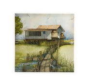 CP9 CANVAS PRINT PATHWAY TO PARADISE