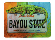 GCB50-GLASS CUTTING BOARD STATE PLATE GATOR