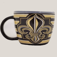 SM11 Black & Gold Soup Mug