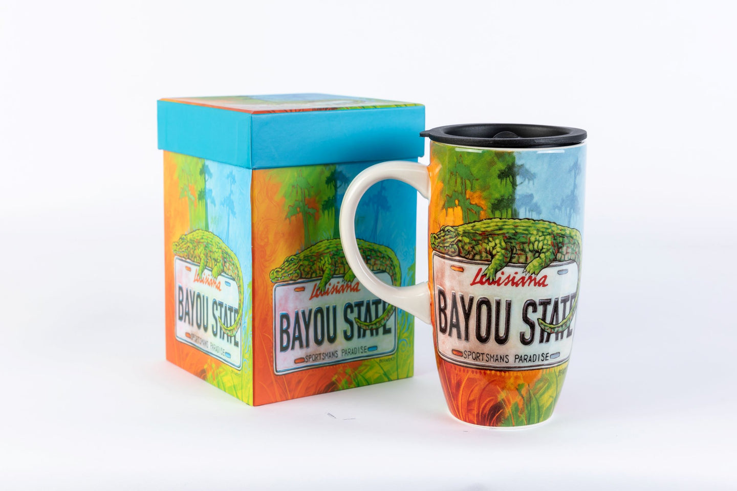TM05 State Plate Gator Travel Mug