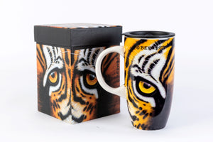 TM07 Tiger Eye Travel Mug