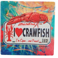 TV51 Trivet State Plate Crawfish
