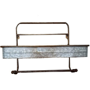 UH818 WALL SHELF GALVANIZED
