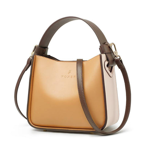 Bag women fashion leather bucket stylish messenger & shoulder valentine's day gift