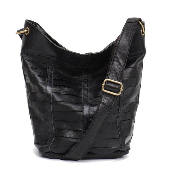 Handbags women real leather hobo patchwork shoulder sheepskin messenger brand design
