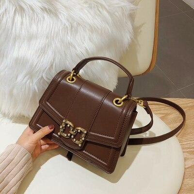 Handbags women fashion pu leather design messenger bags party totes
