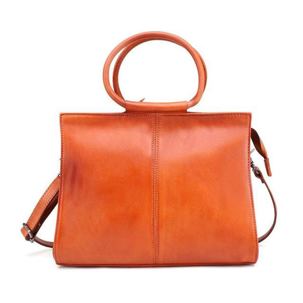 Handbag women bag genuine leather casual tote fashion messenger shoulder top-handle