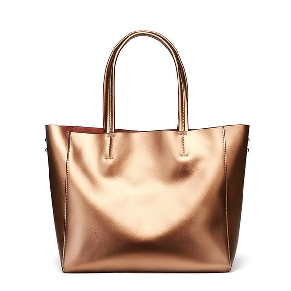 Handbags women brand genuine leather large purses shoulder top-handle tote
