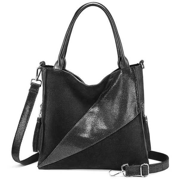 Handbags women genuine leather shoulder bag luxury designer hobo fashion