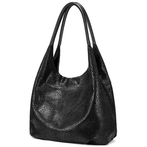 Handbags women genuine leather shoulder designer fashion hobo large capacity